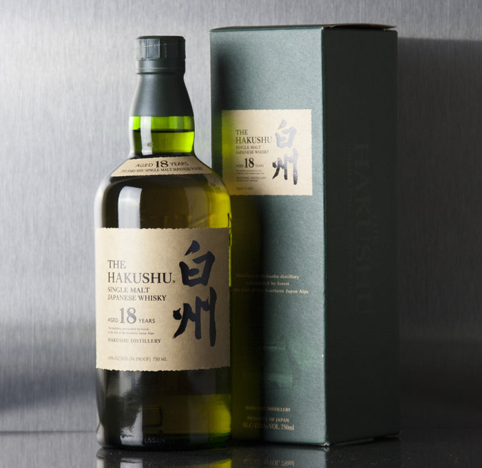 Hakushu 18 Year Single Malt Whisky 750 ml