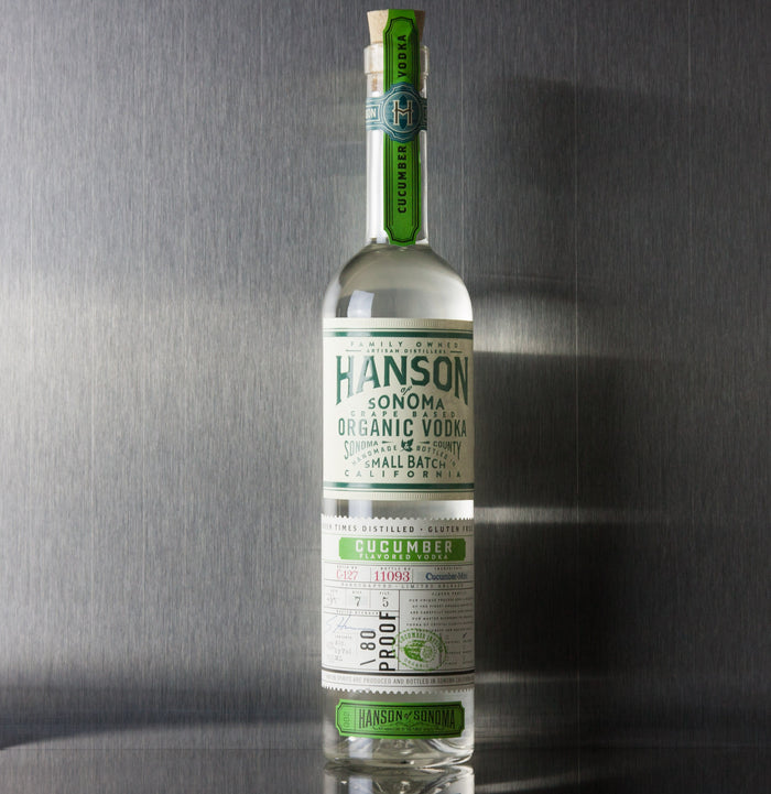 Hanson of Sonoma Cucumber Vodka 750 ml