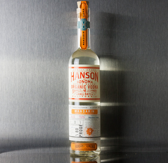 Hanson of Sonoma Mandarin Vodka 750 ml