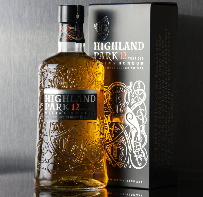 Highland Park 12 Year Viking Honour Single Malt Scotch 750 ml
