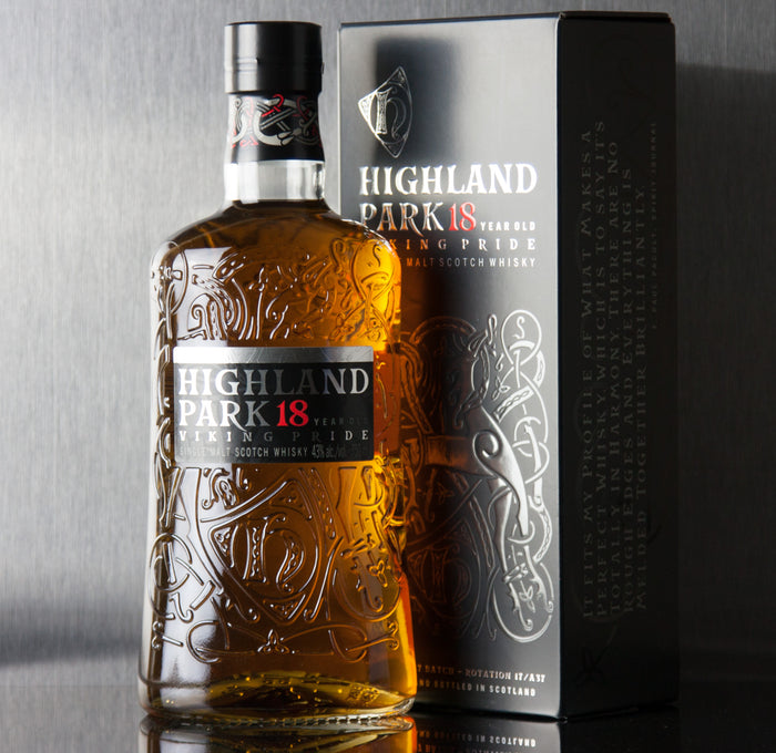 Highland Park 18 Year Viking Pride Single Malt Scotch 750 ml