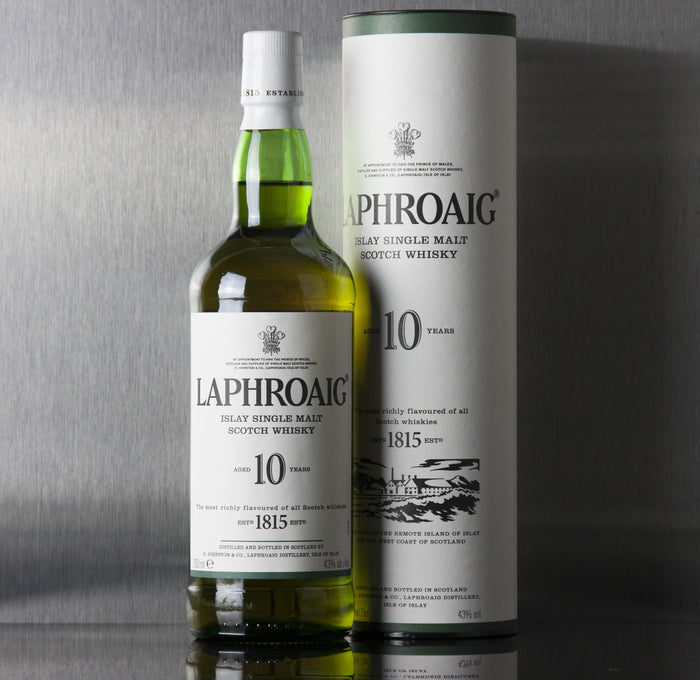 Laphroaig 10 Year Single Malt Scotch 750 ml