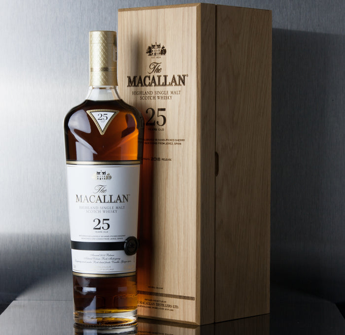 Macallan 25 Year Sherry Oak - Macallan - Third Base Market & Spirits Liquor