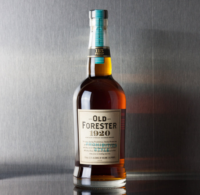Old Forester 1920 Prohibition Style Bourbon 750 ml