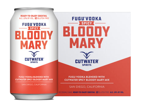 Cutwater Spicy Bloody Mary 4 Pack