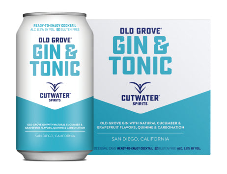 Cutwater Gin & Tonic 4 Pack
