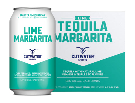 Cutwater Tequila Lime Margarita 4 Pack
