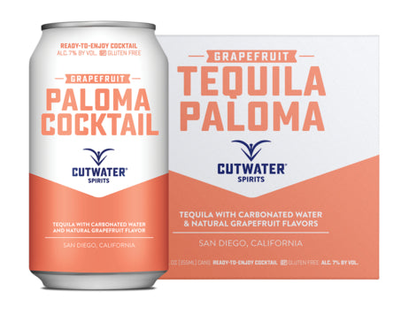 Cutwater Tequila Paloma 4 Pack