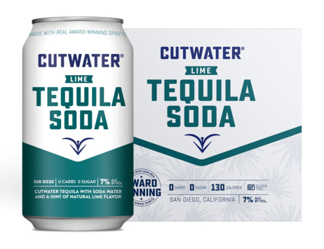 Cutwater Tequila Soda 4 Pack