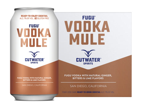 Cutwater Vodka Mule 4 Pack