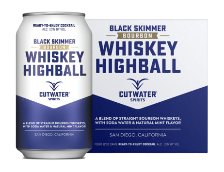 Cutwater Whiskey Highball 4 Pack