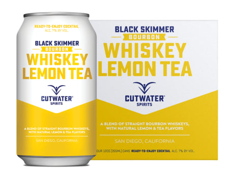 Cutwater Whiskey Lemon Tea 4 Pack