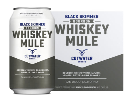 Cutwater Whiskey Mule 4 Pack