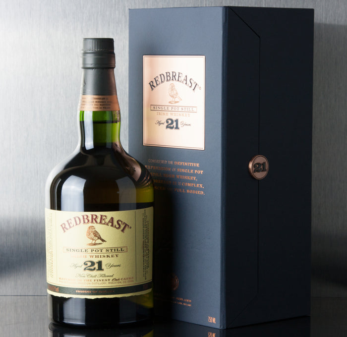 Redbreast 21 Year Single Pot Still Irish Whiskey 750 ml