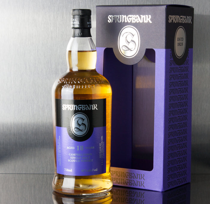 Springbank 18 Year Single Malt Scotch 750 ml