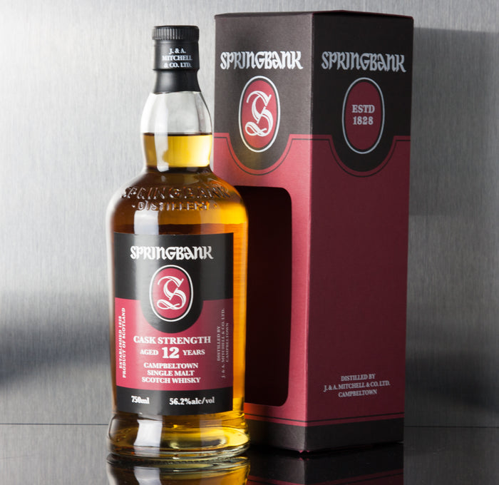 Springbank Cask Strength 12 Year - Springbank - Third Base Market & Spirits Liquor