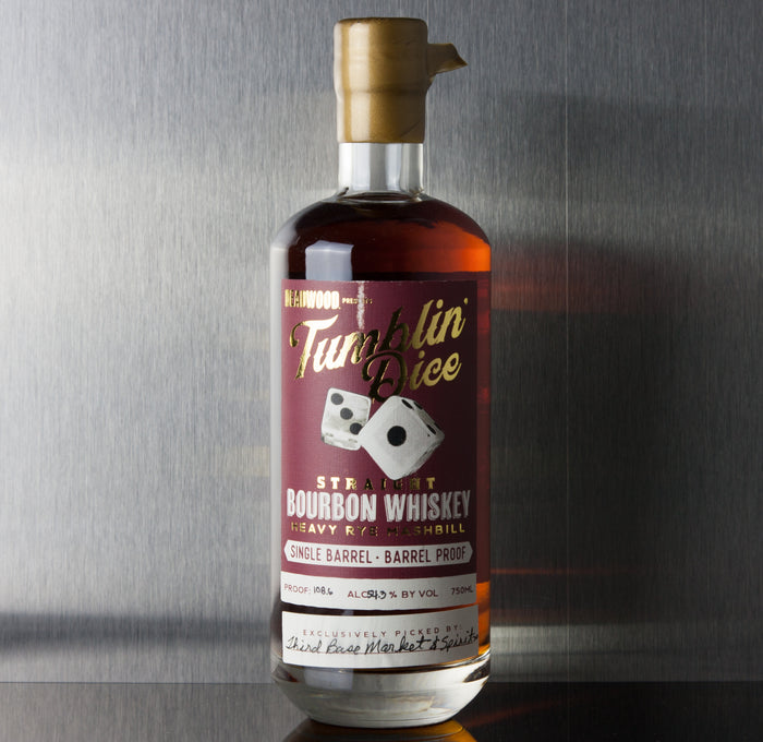 Tumblin' Dice 4 Year Bourbon 108.6 Proof