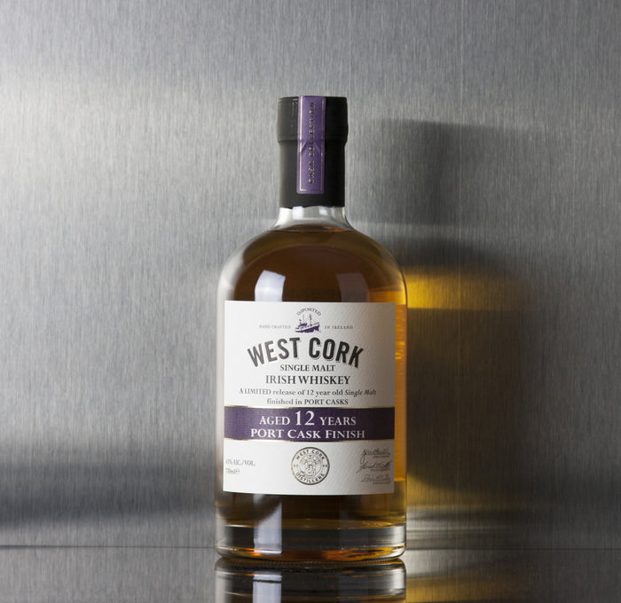 West Cork 12 Year Port Cask Finish Irish Whiskey 750 ml