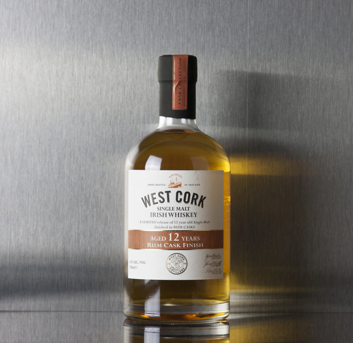 West Cork 12 Year Rum Cask Finish Irish Whiskey 750 ml