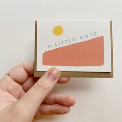 Tiny Note Card