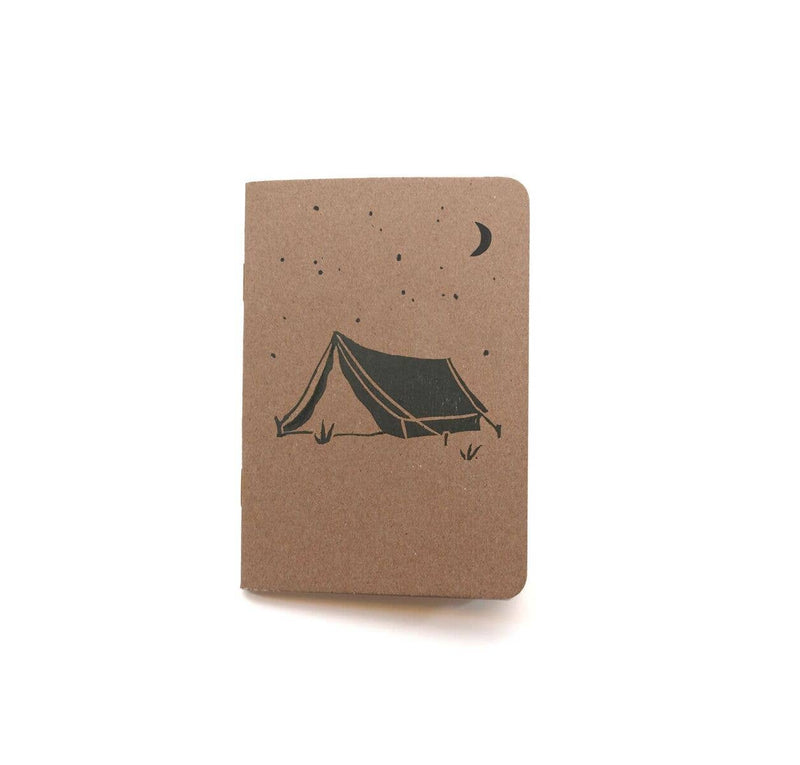 Tent Block Print Notebook