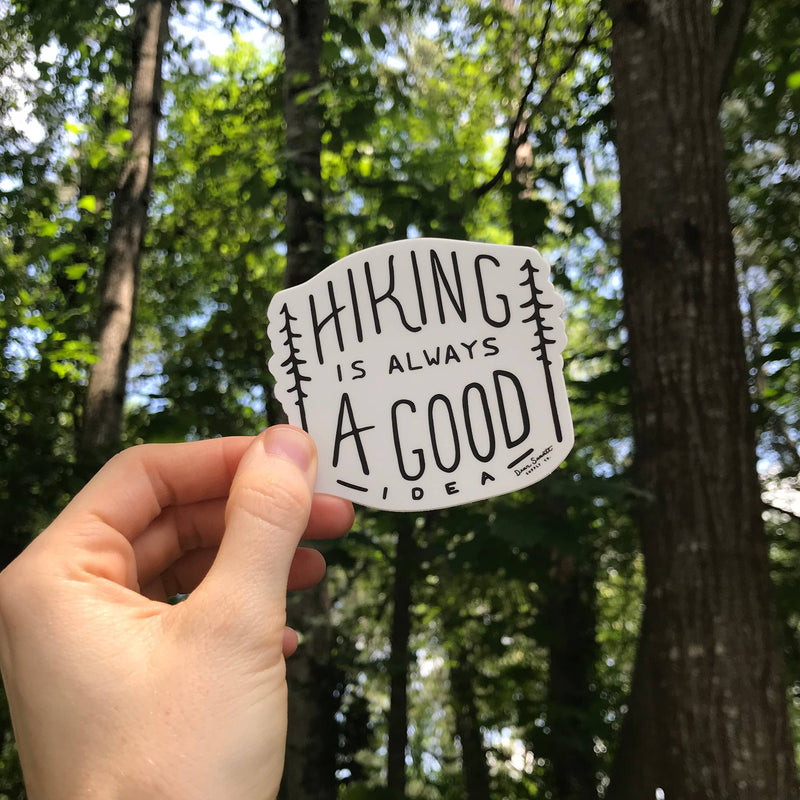 Hiking - Vinyl Sticker
