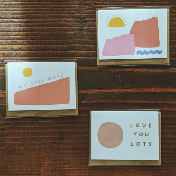 Mini Note Card Set