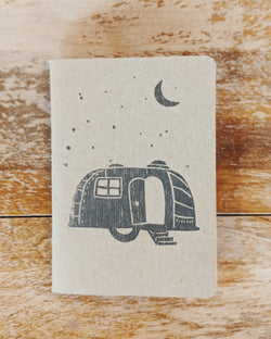 Camper Block Print Notebook