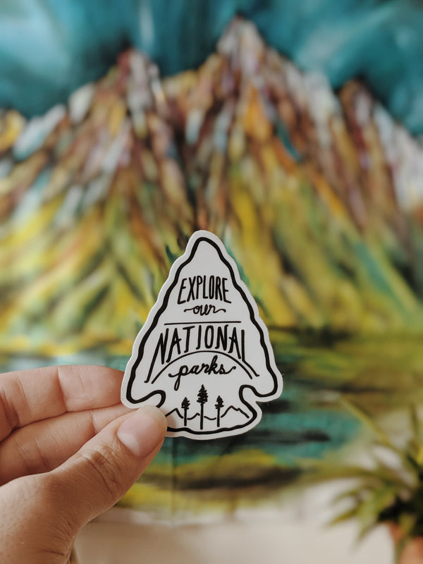 Explore National Parks Sticker