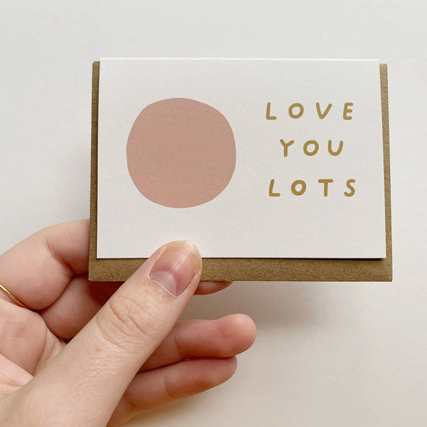 Tiny Love You Lots Card
