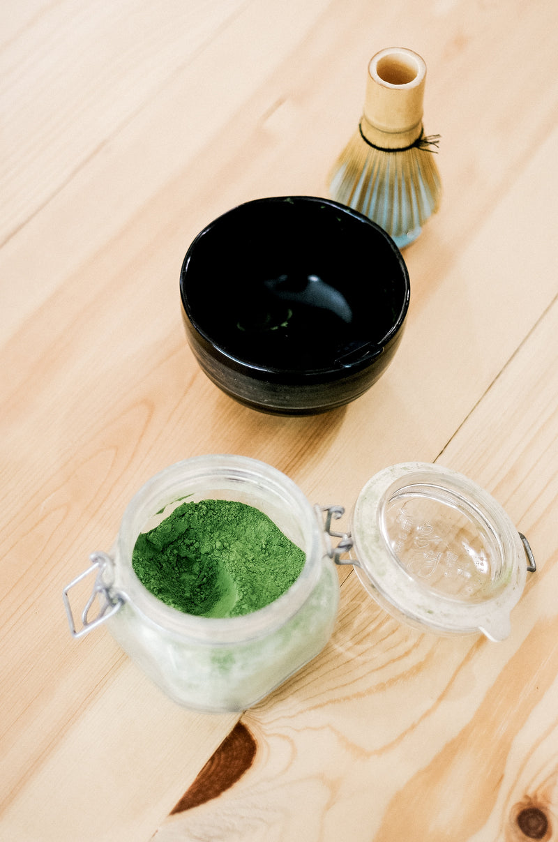 Matcha Whisk + Holder