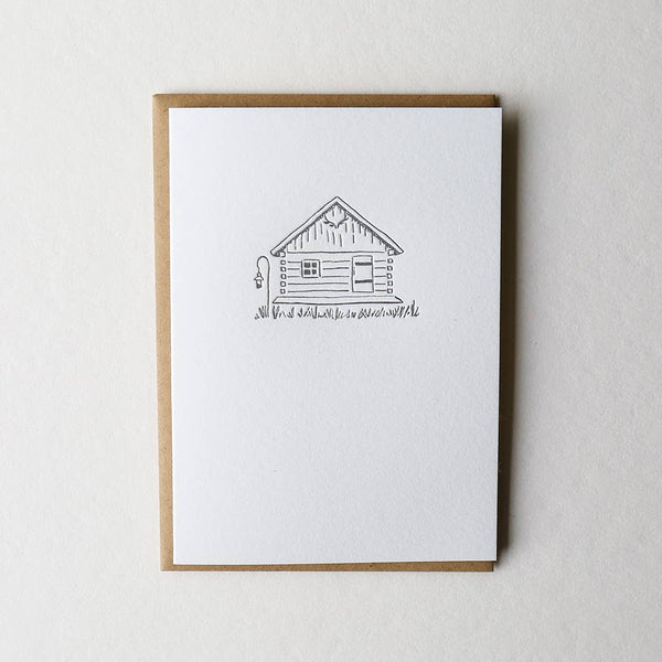 Tiny Cabin Card