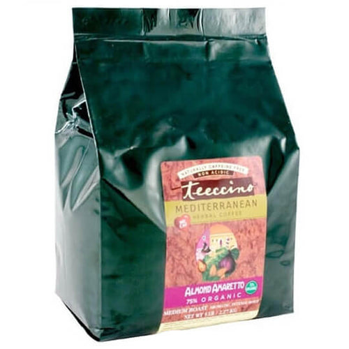 Teeccino Herbal Coffee Almond Amaretto 2.2kg Bag