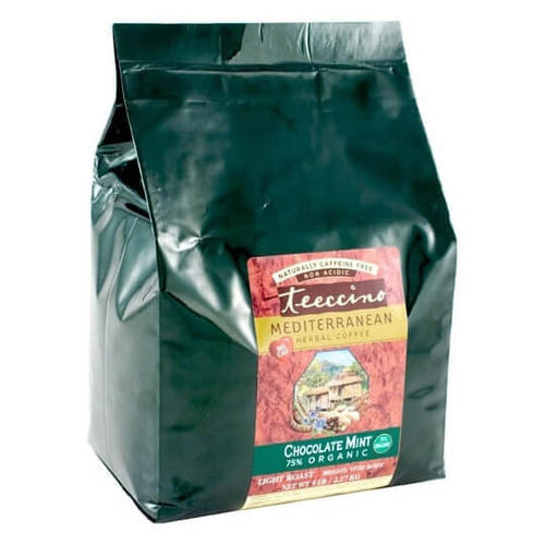Teeccino Herbal Coffee Chocolate Mint 2.2kg Bag