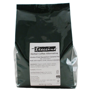 Teeccino Herbal Coffee Dandelion Caramel Nut 2.2kg Bag