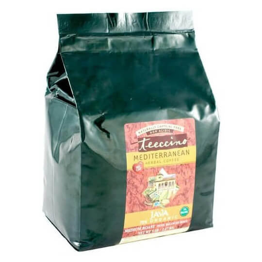 Teeccino Herbal Coffee Java 2.2kg Bag