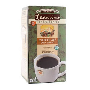 Teeccino Herbal Coffee Maya Chocolate 25 Tee Bags
