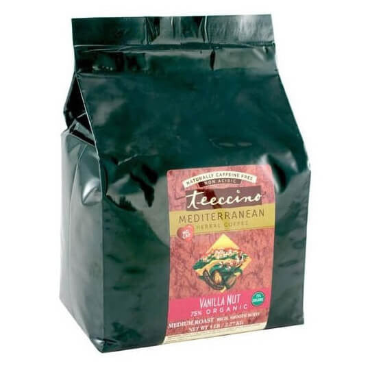 Teeccino Herbal Coffee Vanilla Nut 2.2kg Bag
