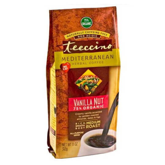 Teeccino Herbal Coffee Vanilla Nut 312g Bag