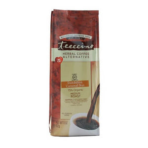 Teeccino Herbal Coffee Dandelion Caramel Nut 312g Bag
