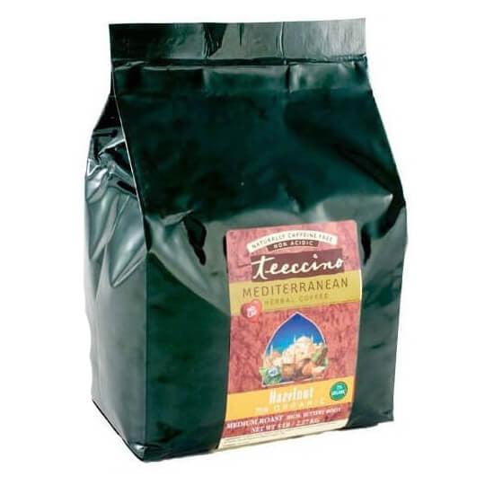 Teeccino Herbal Coffee Hazelnut 2.2kg Bag