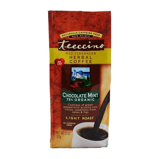 Teeccino Herbal Coffee Chocolate Mint 312g Bag