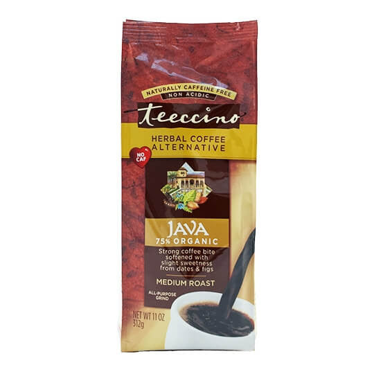 Teeccino Herbal Coffee Java 312g Bag