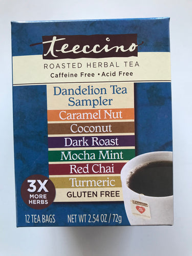 Dandelion Tea Sampler Variety Pack