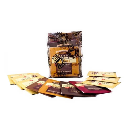 Teeccino Herbal Coffee Tee Bag Sampler Pack
