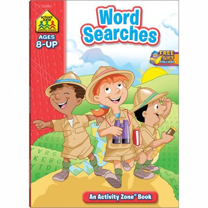 Word Searches Deluxe Edition Activity Zone Workbook