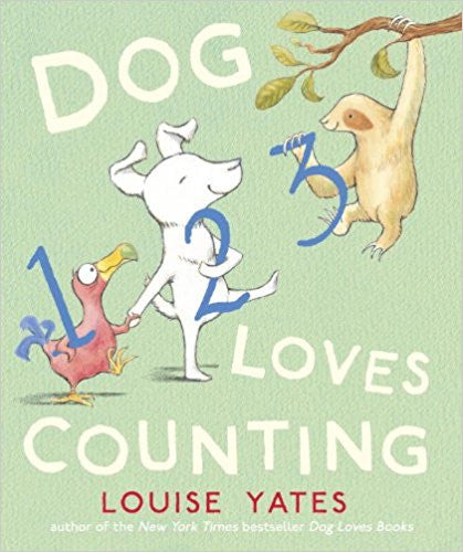 Dog Loves Counting Hardcover – September 10, 2013  by Louise Yates (Author)