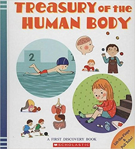 Treasury of the Human Body Spiral-bound – 2013  by Delphine Badreddine (Author), Severine Cordier (Illustrator)