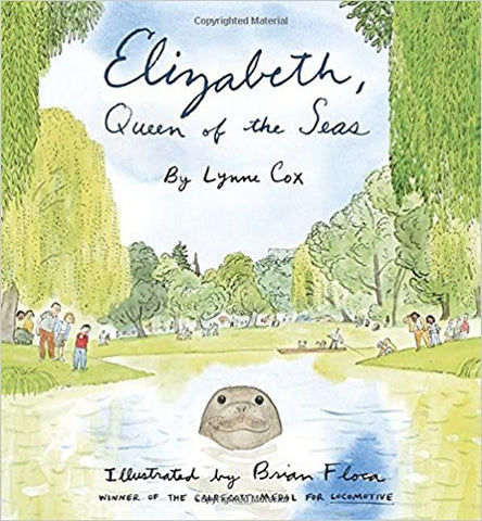 Elizabeth, Queen of the Seas Hardcover – May 13, 2014  by Lynne Cox (Author), Brian Floca (Illustrator)