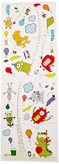 Monster Growth Chart  Wall Decals by DCWV